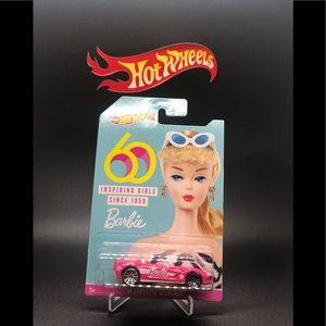 Hot Wheels 60th Barbie '14 Corvette Stingray